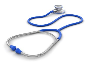 stethoscope (clipping path included)