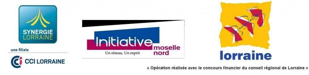 Soutien de la région Lorraine, la Chambre de commerce et de l'industrie de Lorraine et synergie Lorraine