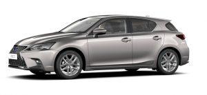 Lexus CT200H mesure champs électriques et magnétiques, CEM