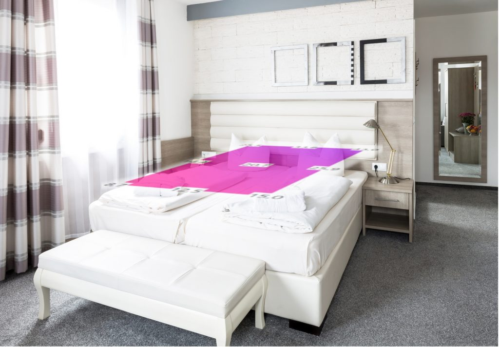 lit avec releve CEM